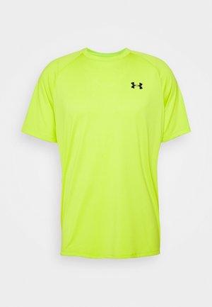 HEATGEAR TECH  - Print T-shirt - green citrine