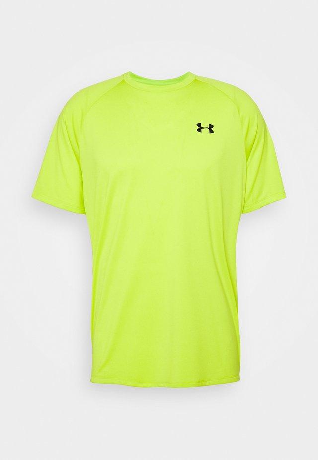 HEATGEAR TECH  - T-shirt imprimé - green citrine