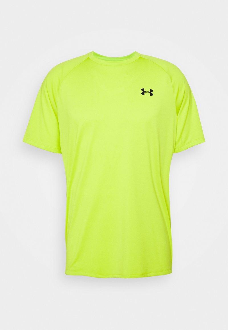 Under Armour - HEATGEAR TECH  - Camiseta estampada - green citrine