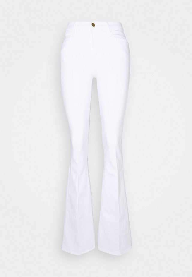 HIGH - Flared Jeans - blanc