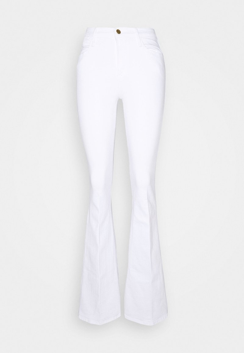 Frame Denim - HIGH - Flared-farkut - blanc