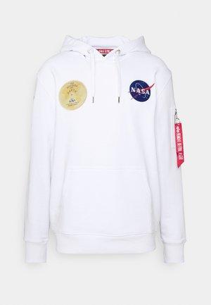 NASA VOYAGER HOODY - Sweatshirt - white