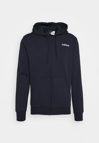 ESSENTIALS SPORTS HOODED TRACK - Zip-up hoodie - dark blue