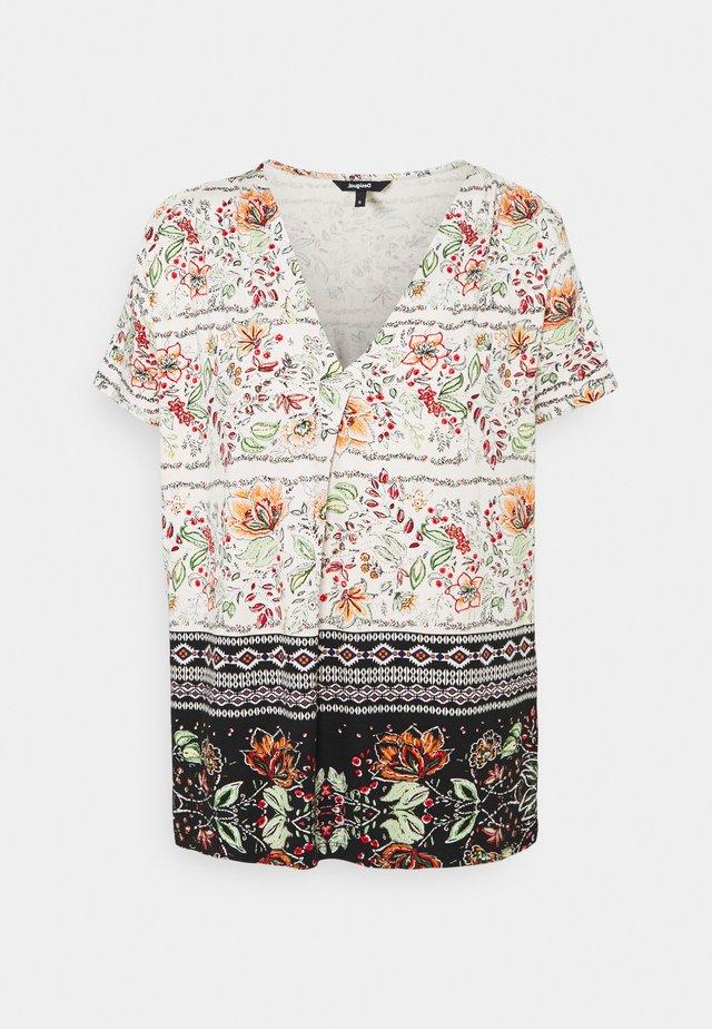 CRACOVIA - T-shirt print - white
