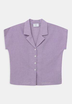 SUISU CHECK  - Blouse - light purple