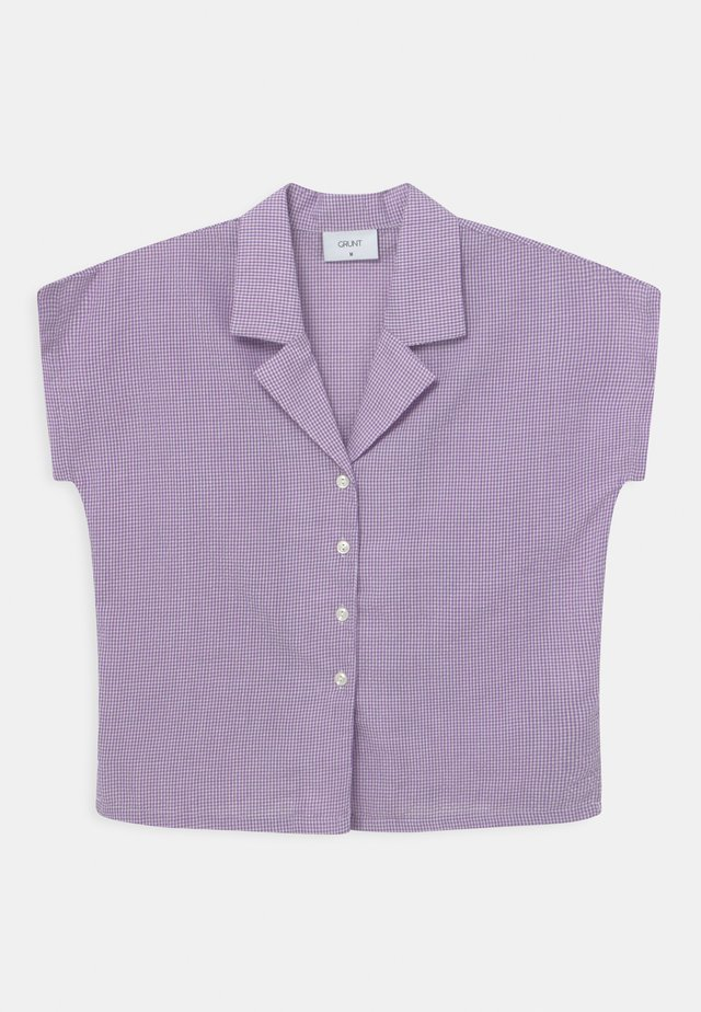 SUISU CHECK  - Camicetta - light purple