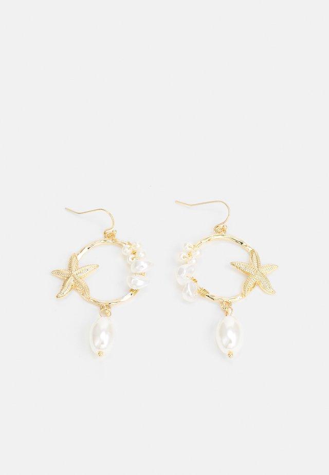EARRING - Orecchini - gold-coloured
