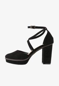 Simply Be - WIDE FIT BELLONA - High heels - black - 0