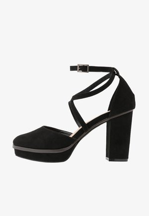 WIDE FIT BELLONA - Zapatos altos - black