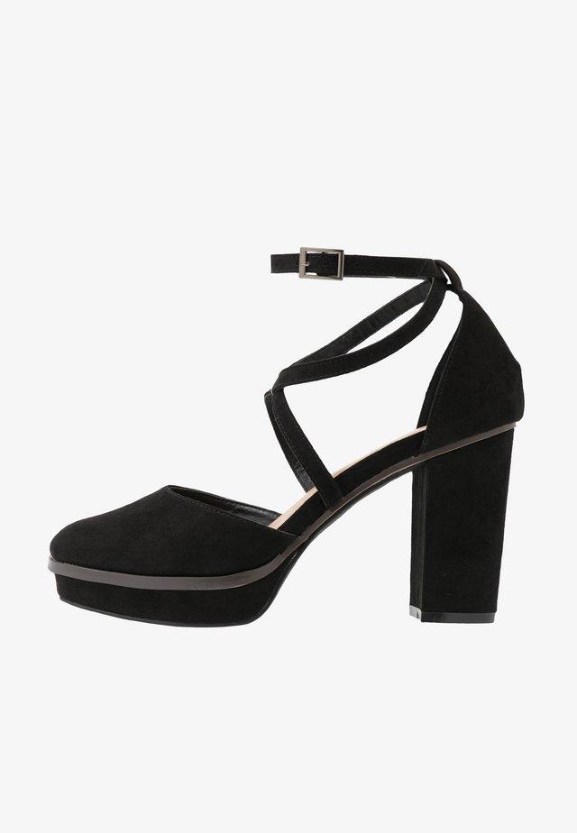 WIDE FIT BELLONA - High heels - black