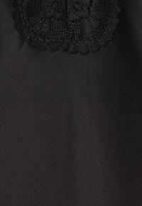 Anna Field - STRAP BACK NIGHTDRESS  - Nattskjorte - black - 6