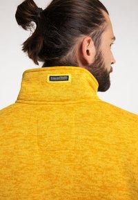 Schmuddelwedda - Fleece jacket - senf melange - 3