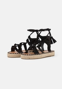 South Beach - LACE UP - Sandals - black - 2