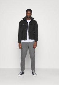 Denim Project - JACKET - Giacca di jeans - black - 1