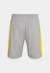 New Era - LOS ANGELES LAKERS NBA SIDE PANEL SHORT - Club wear - grey - 6