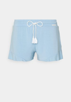 DAMEN FESTIVAL VIBE SLEEP - Pyjama bottoms - sky blue