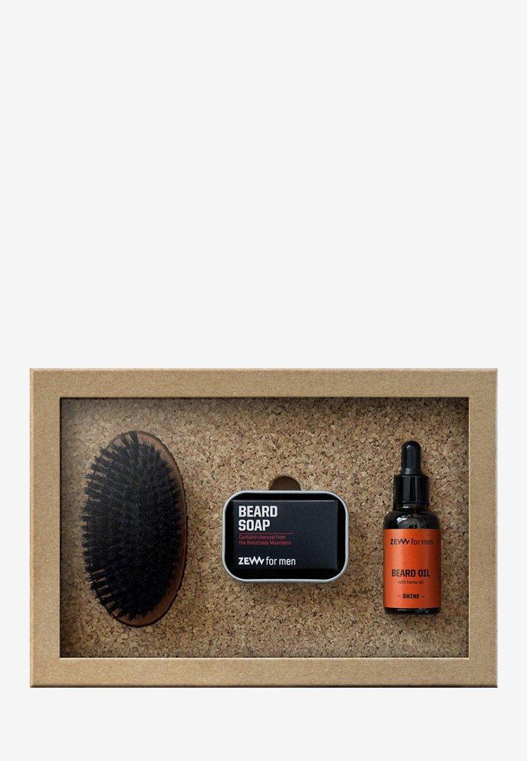 Zew for Men - SIMPLE LUMBERJACK HEMP SHINE - Shaving set - orange