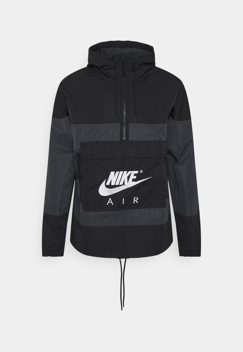 Nike Sportswear - AIR ANORAK - Vindjacka - black/anthracite/white