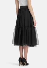 Nicowa - A-line skirt - schwarz - 2