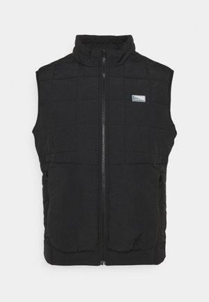JCOMAGIC TWIST QUILTED BODYWARMER - Waistcoat - black