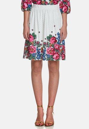 A-line skirt - creme