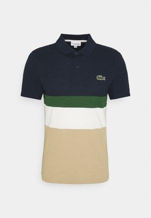 Polo shirt - viennois/farine/vert/marine