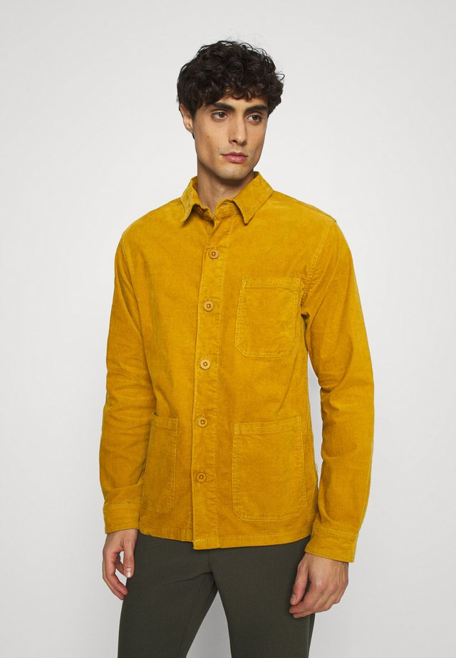 Summer jacket - dark yellow