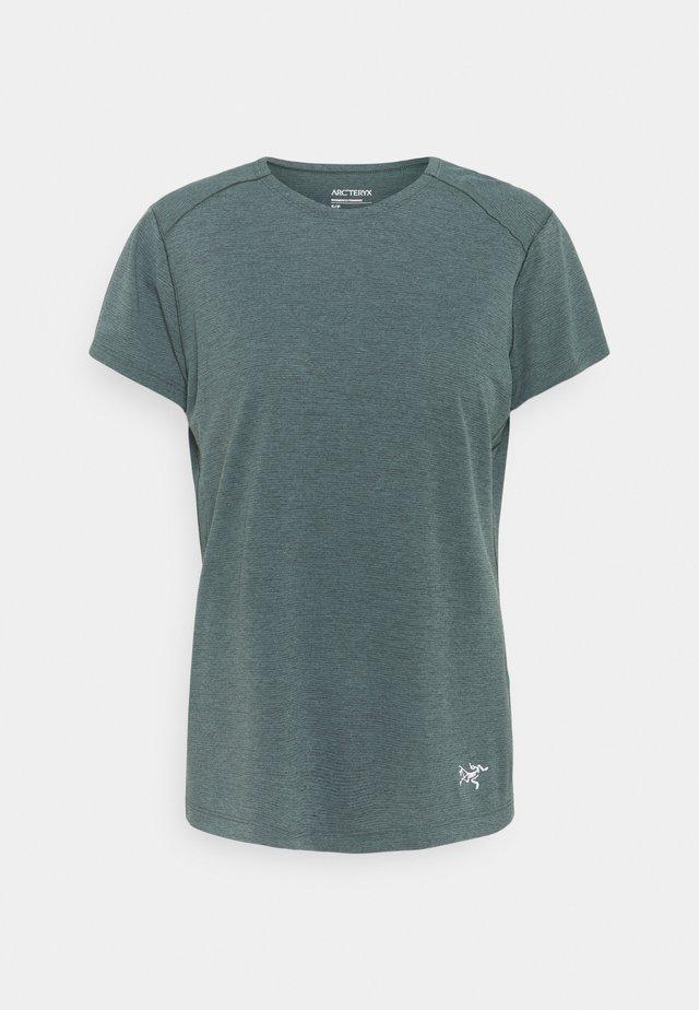 QUADRA CREW - Basic T-shirt - enigma heather