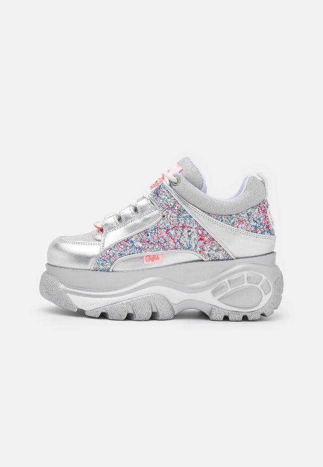 Sneakers laag - glitter