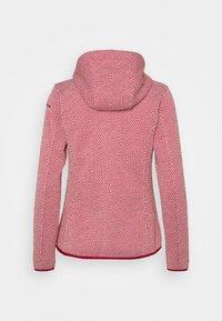 Icepeak - URSA - Fleece jacket - burgundy - 1