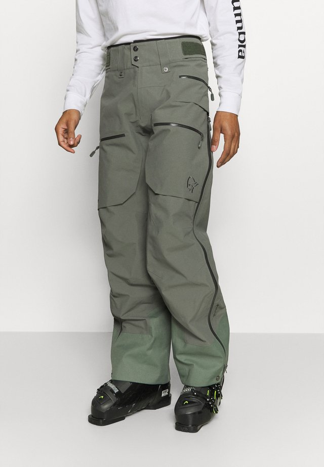 LOFOTEN GORE TEX PRO PANTS - Snow pants - grey
