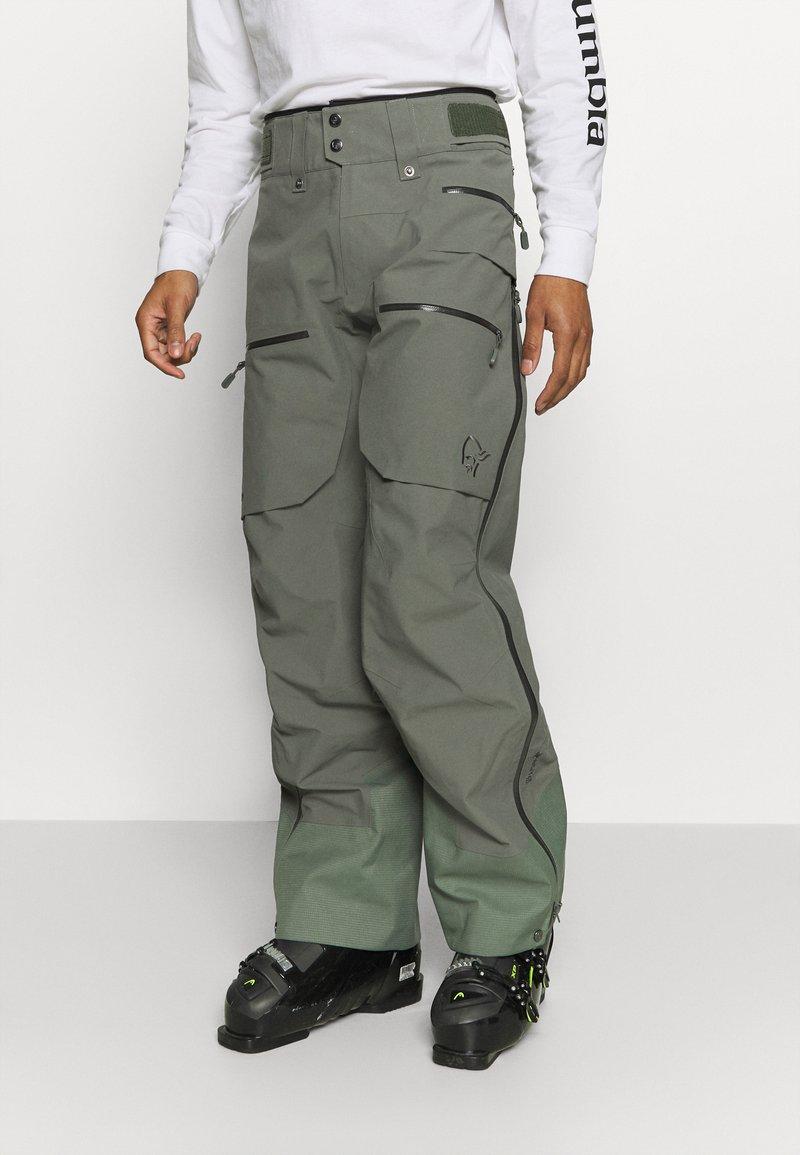 Norrøna - LOFOTEN GORE TEX PRO PANTS - Pantaloni da neve - grey