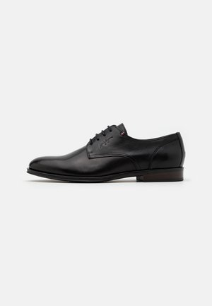 CASUAL SHOE - Zapatos con cordones - black