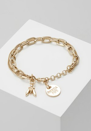 BRACCIALE CON CATENE - Pulsera - gold-coloured