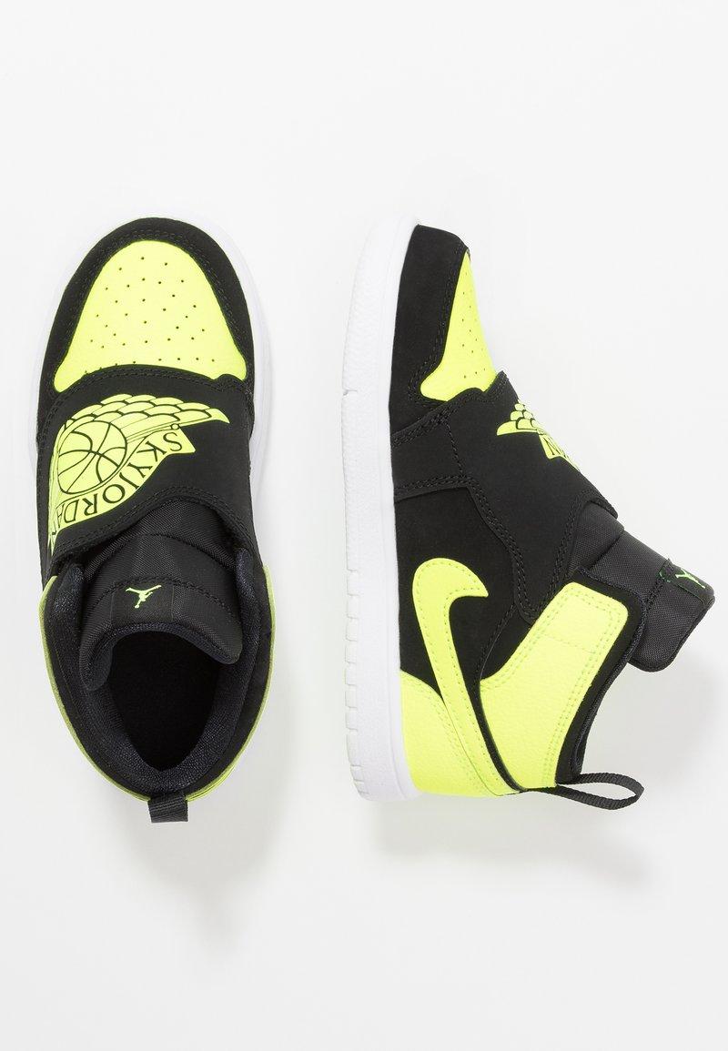 Jordan - SKY 1 - Basketball shoes - black/volt/white