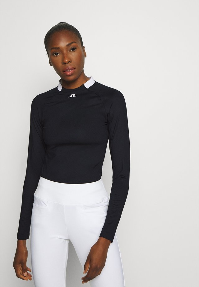 ELEONORE LONG SLEEVE GOLF  - Long sleeved top - navy