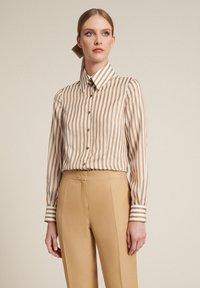 Luisa Spagnoli - Button-down blouse - beige/ off-white - 0