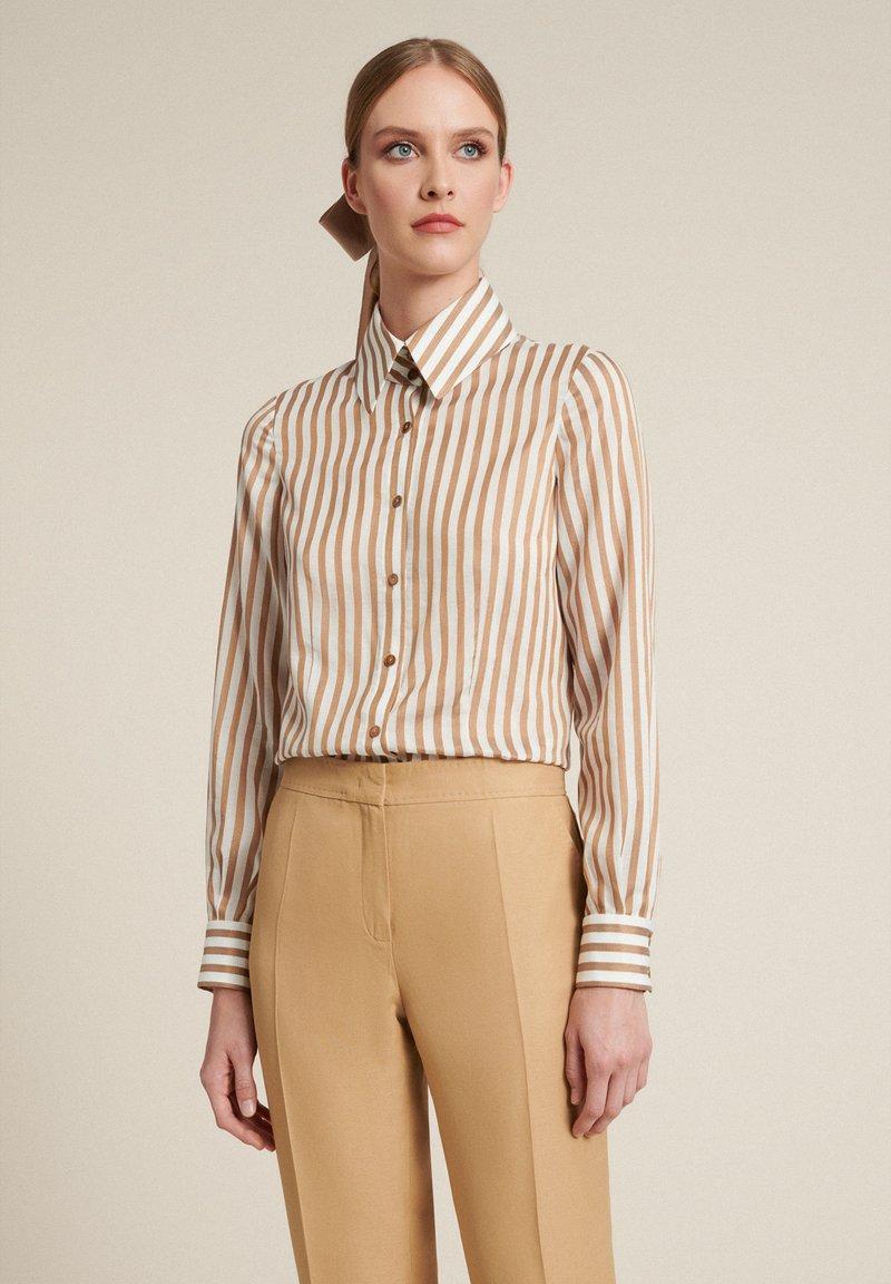Luisa Spagnoli - Button-down blouse - beige/ off-white