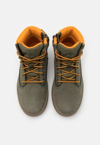 Timberland - DAVIS SQUARE UNISEX - High-top trainers - dark green - 3