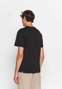 The North Face - EASY TEE - Printtipaita - black - 3