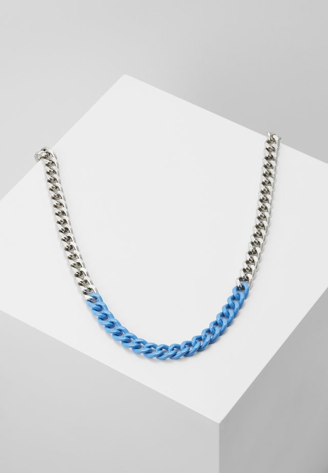COLOUR POP CHAIN - Collar - blue