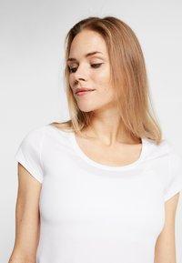 ODLO - CREW NECK ACTIVE F-DRY LIGHT - Basic T-shirt - white - 3