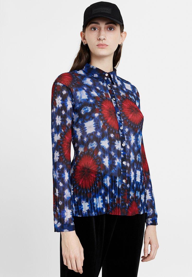 Desigual - CAM_DRAVA - Button-down blouse - blue