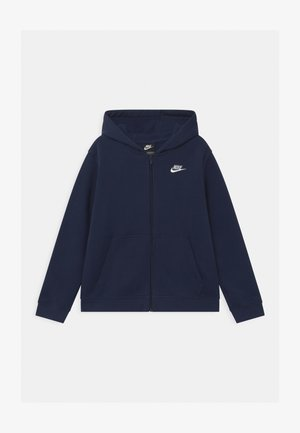 PLUS HOODIE CLUB - Mikina na zip - midnight navy