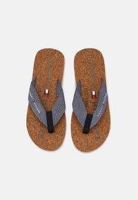 Tommy Hilfiger - BEACH - T-bar sandals - yale navy - 3