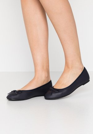 WIDE FIT SNAFFEL - Ballet pumps - navy