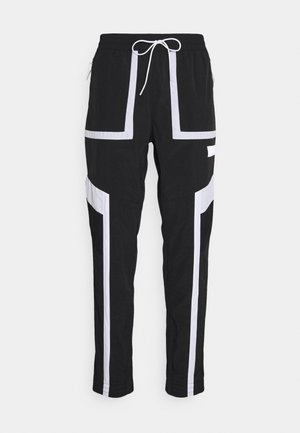 COURT SIDE PANT - Tracksuit bottoms - black