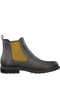Tamaris - Classic ankle boots - grey lea/saff. - 4