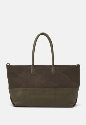 CHELSEA SHELLE - Tote bag - elephant green