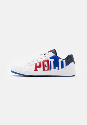 OAKLYNN II - Sneakers laag - white smooth/royal red/white